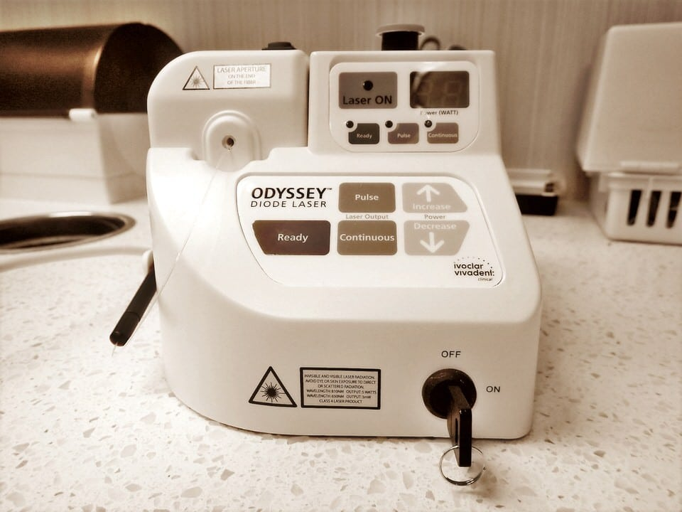 odyssey diode soft tissue dental laser from ivoclar vivadent